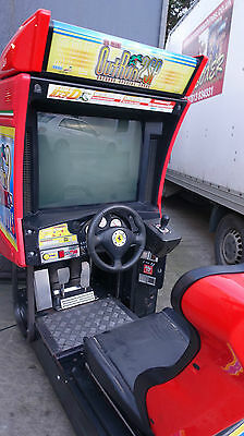 Outrun 2 Special Tours Single Japanese Sit Down Arcade Machine Working