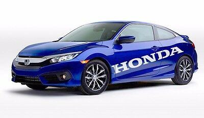 Honda ACCORD in my Blood heartbeat window sticker decal graphic vtec civic car