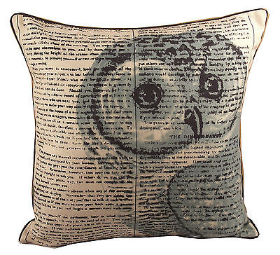 Owl 18 x 18 inches Cushion Covers Pack of 4