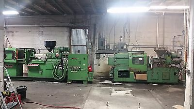 Two 120 Ton Plastic Injection Molders