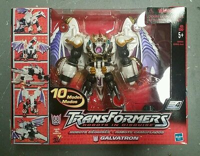 Transformers Robots In Disguise 2001 Galvatron 10 Modes Hasbro Extremely Rare