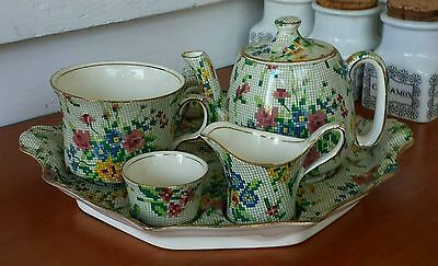 Royal Winton Breakfast Set . Queen Anne . 7 Peice .
