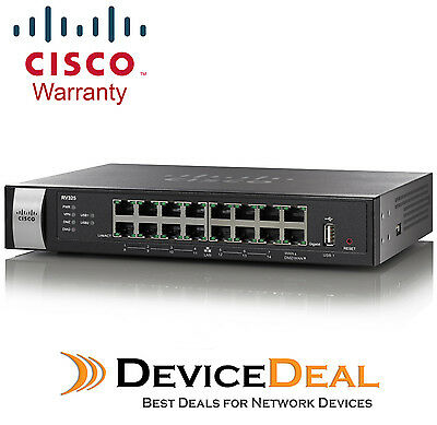 Cisco RV325-K9-AU Dual Gigabit WAN VPN Router (14-Port Gigabit)