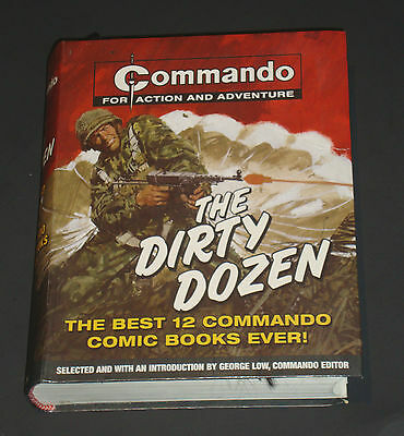 Commando For Action and Adventure The Dirty Dozen Best 12 Comic Books Ever TPB
