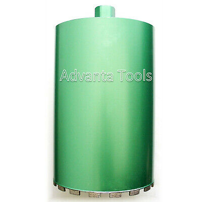 "14"" Wet Diamond Core Drill Bit for Concrete - Premium Green"