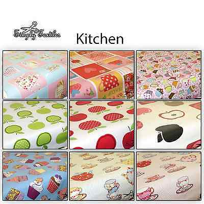 Kitchen - Wipe Clean PVC Tablecloth Oilcloth Vinyl
