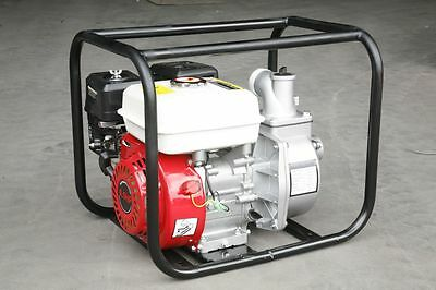 New Petrol Water Transfer Pump 6.5HP 2 Inch Gasoline Water Pump