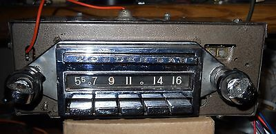 58-62 OEM Corvette Wonderbar Radio Converted to AM FM w/Aux 180 Watts SEE VIDEO*