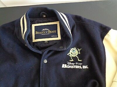 DISNEY PIXAR Promotional MONSTERS INC Movie Jacket BEAUTY AND THE BEAST Edition