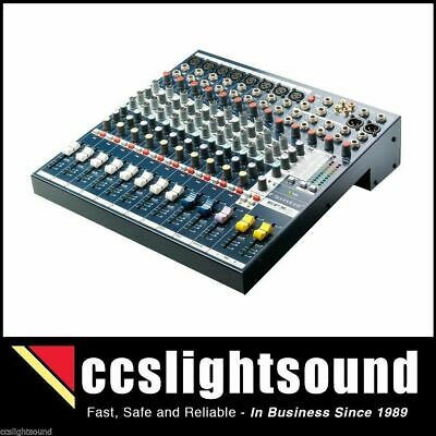 Soundcraft Efx8 8-Channel Mixer With Karaoke Setting And Fx Processor