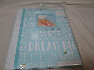 New L'il Peach Baby's Memory Record Book First Five Years - SWEET BOY DREAM BIG