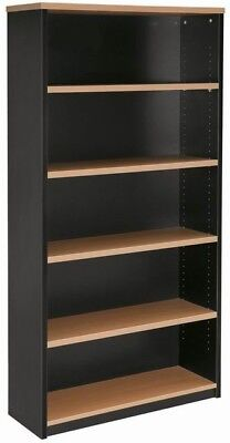 BRAND NEW Office Home Student bookcase shelves shelving bookshelf 1800 H