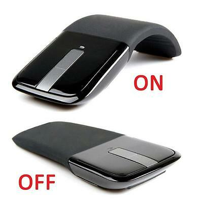 For PC Laptop Notebook2.4GHz Arc Touch Wireless Optical Mouse With USB Receiver