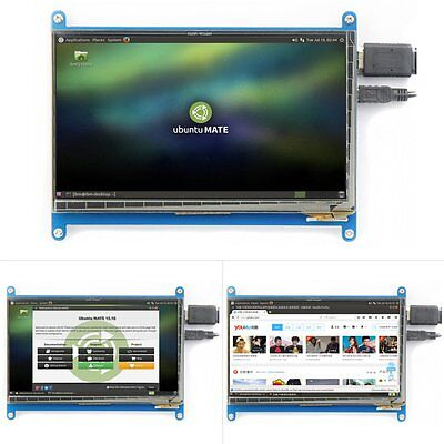 "3.5/5/7"" Inch HDMI Touch LCD Screen Display for Raspberry Pi2 Model B+DE Ship AN"
