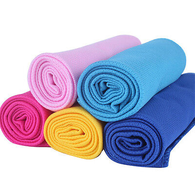 Cold Microfiber Hypothermia Towels Exercise Sweat Summer Sports Cooling Towel CN