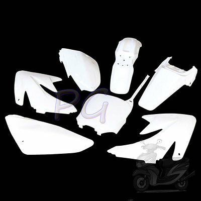 Brandnew Crf70 White Plastics Fenders Cover 125 140Cc Pit Bikes Motocycle