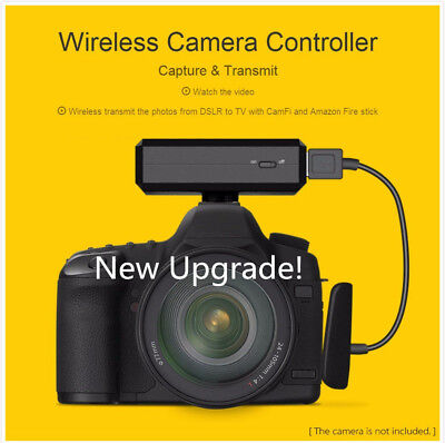New CamFi Remote DSLR Camera Controller Wireless Control from IP for Canon Nikon
