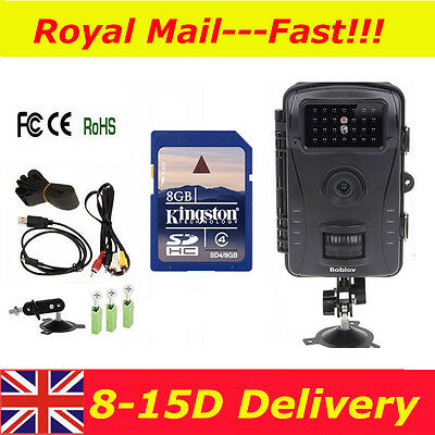 RD1003 Phototrap  IR View Day&Night Hunting Trail Camera DVR for Wild Animals