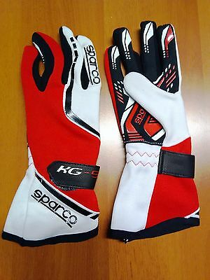 Sparco Kart Handschuhe Race Gloves 11 Rot Fast Delivery Karting Gloves