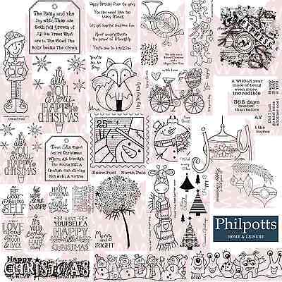 Woodware Clear Stamps - Includes new Christmas for 2016
