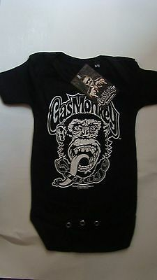Gas Monkey Garage Logo Baby Body (Black) grower