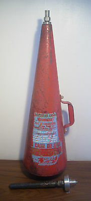 Vintage Minimax Conical Fire Extinguisher