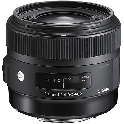 Sigma 30mm F1.4 DC HSM Art Lens in Sigma Fit (UK Stock) BNIB
