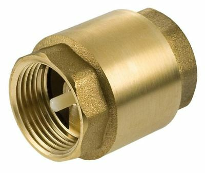 "1"" to 3"" Inch BSP Brass Check Non-Return Valve Female With Plastic Insert"