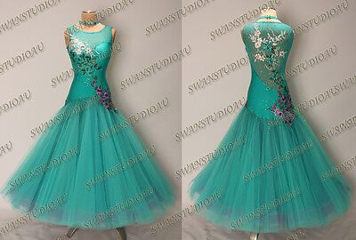 Ballroom .standard. Smooth Dance Competition Dress Size S M L Wb3185