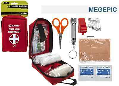 Summit First Aid Kit Camping, Hiking, Walking, Travel, Compact Set