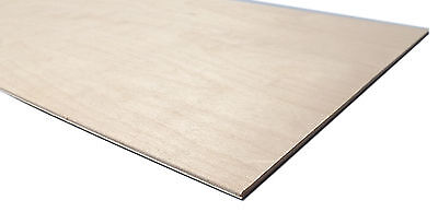 Birch Plywood Sheets - Laser Safe For Crafts Modelling, Pyrography 3mm 4mm 6mm
