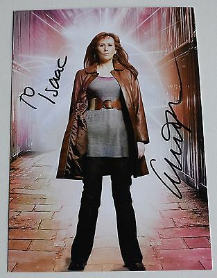 Catherine Tate SIGNED Official Photo Card Autograph Doctor Who Dedicated TV COA