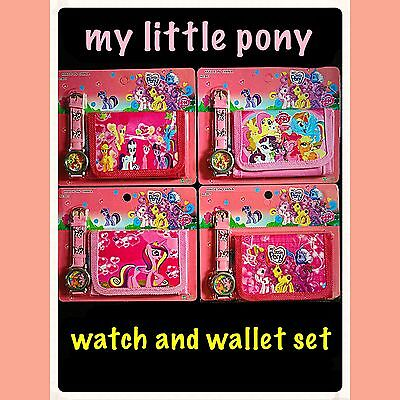 My Little Pony Watch And Wallet set. Children's my little pony watch. Fillers