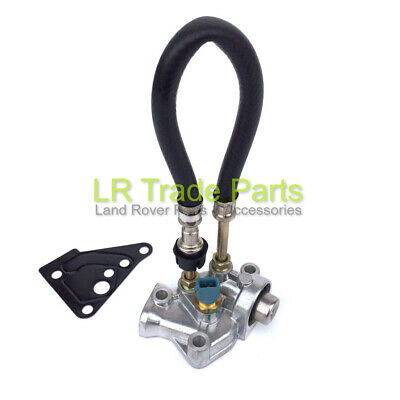 Land Rover Defender Td5 Fuel Pressure Regulator & Gasket Lr016319 (98-01) 1 Pipe