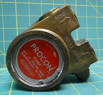 Procon Rotary Vane Pump 10153, 1/2 NPT Inlet and Outlet