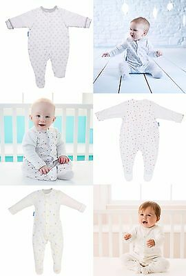 Grobag Gro-Suit/Sleepsuit Baby Clothing 1x Pack (3 Designs, 5 Sizes Available)