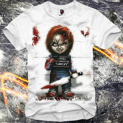 E1Syndicate T Shirt Chucky Ghostbusters Critters Jaws Paris Supreme Eleven
