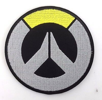 """Overwatch Round Logo  3.5"""" Embroidered Patch- FREE S&H (OWPA-01)"""