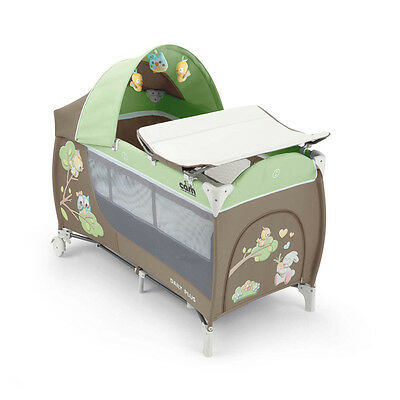 Travel cot with changing mat Daily Plus T225 GUFO Cam