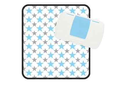 Koo-DI BBOX Essential Nappy Wallet White and Blue