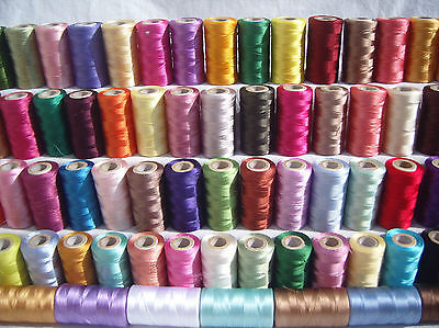 105 Spools of  Embroidery Thread for Brother,Janome, Singer & more - Great Value
