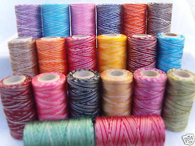 20 Double Shaded Embroidery Thread Spools  20  different Colours, Great quality