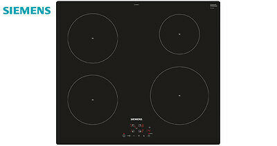 SIEMENS EH611BA18E Built-in Induction Hob Black Glass Touch Control New !!!