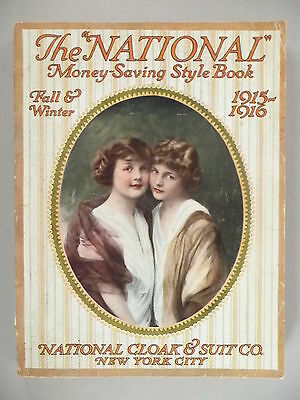 National Cloak CATALOG - 1915-1916 ~~ 510 pages, mostly fashion