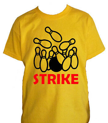 Fm10 T-Shirt Child Bowling Strike Ball Bowling Sport