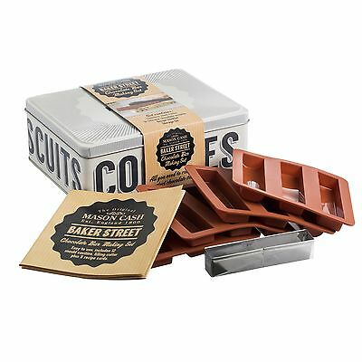 Mason Cash Baker Lane Chocolate Bar Set In A Tin