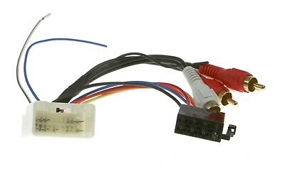 Wiring Harness Adapter For Toyota/lexus To Iso Plug    (App0259)