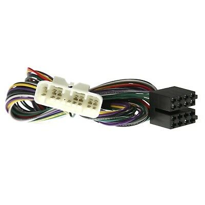 Lexus Is200 Amp Bypass Wiring Harness Adapter To Iso (App0260)