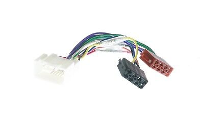 Wiring Harness Adapter For Mitsubishi To Iso Plug (App0113)