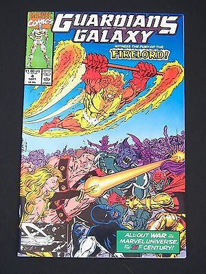 Guardians of the Galaxy #4  NM-  1990   High Grade Marvel Comic